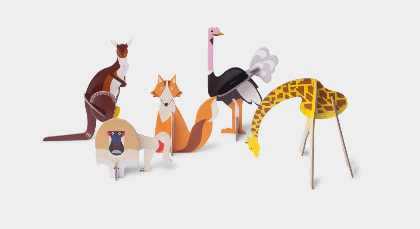 Wooden Animals